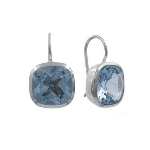 2a. oorbellen zilver londen blue topaas